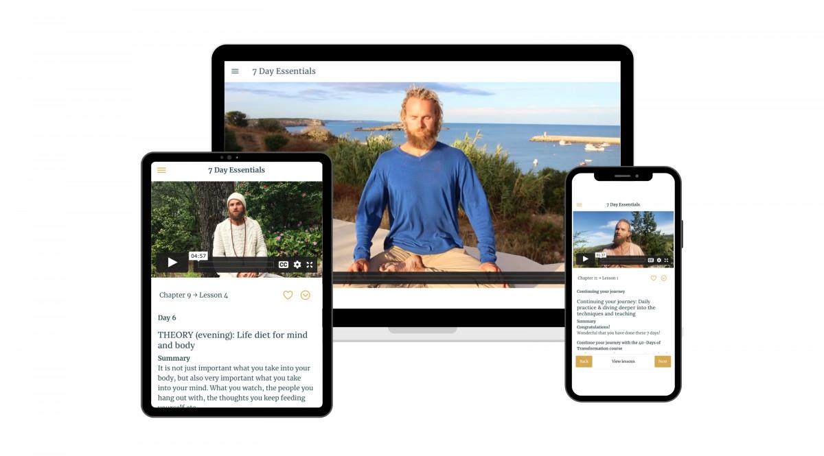 breathwork meditation starter online course
